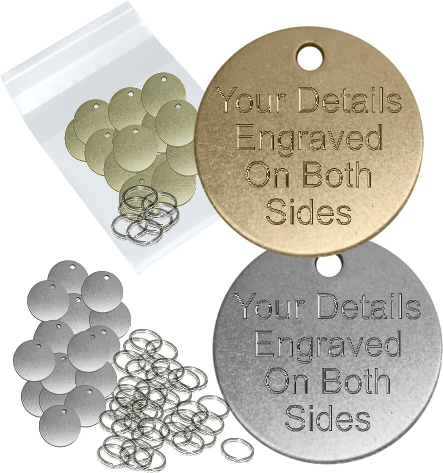Bulk Dog Tags, Wholesale prices for Pet Id