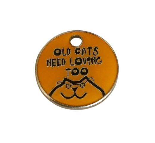 Old Cats need loving too